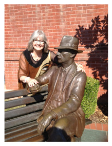 Elaine with Faulkner