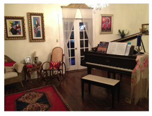 Elaine's piano