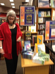 Elaine at book signing